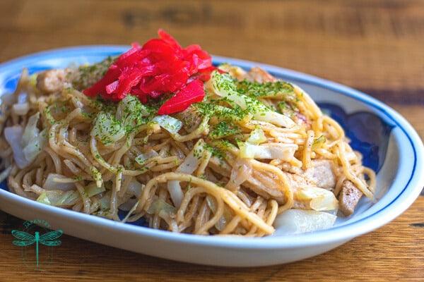 The Japantry's Yakisoba - Japanese pan-fried noodles