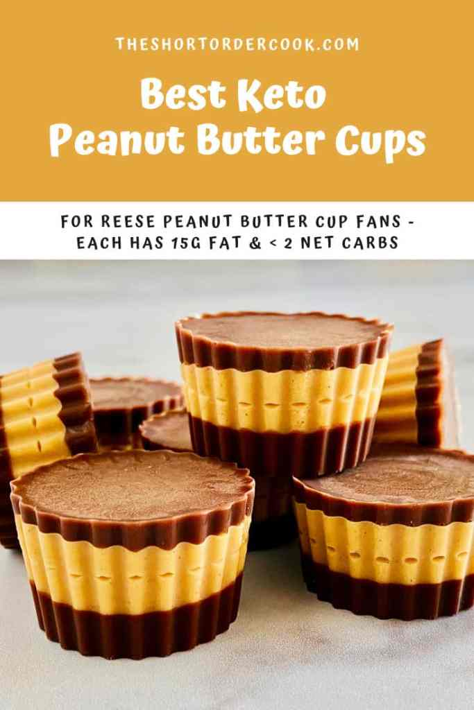 Best Keto Peanut Butter Cups PIN