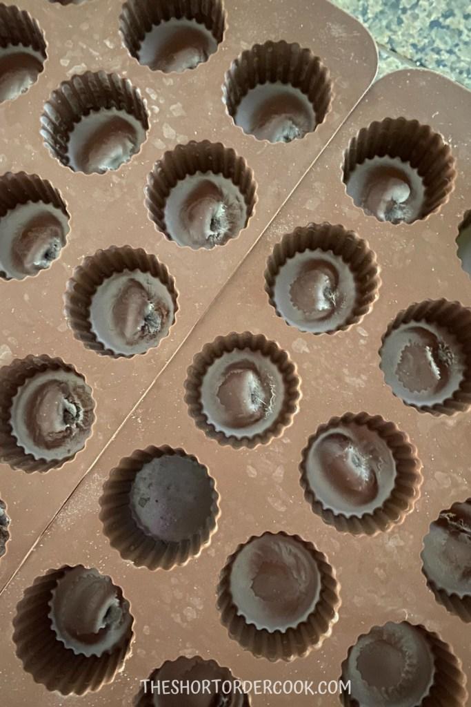 Best Keto Peanut Butter Cups frozen chocolate