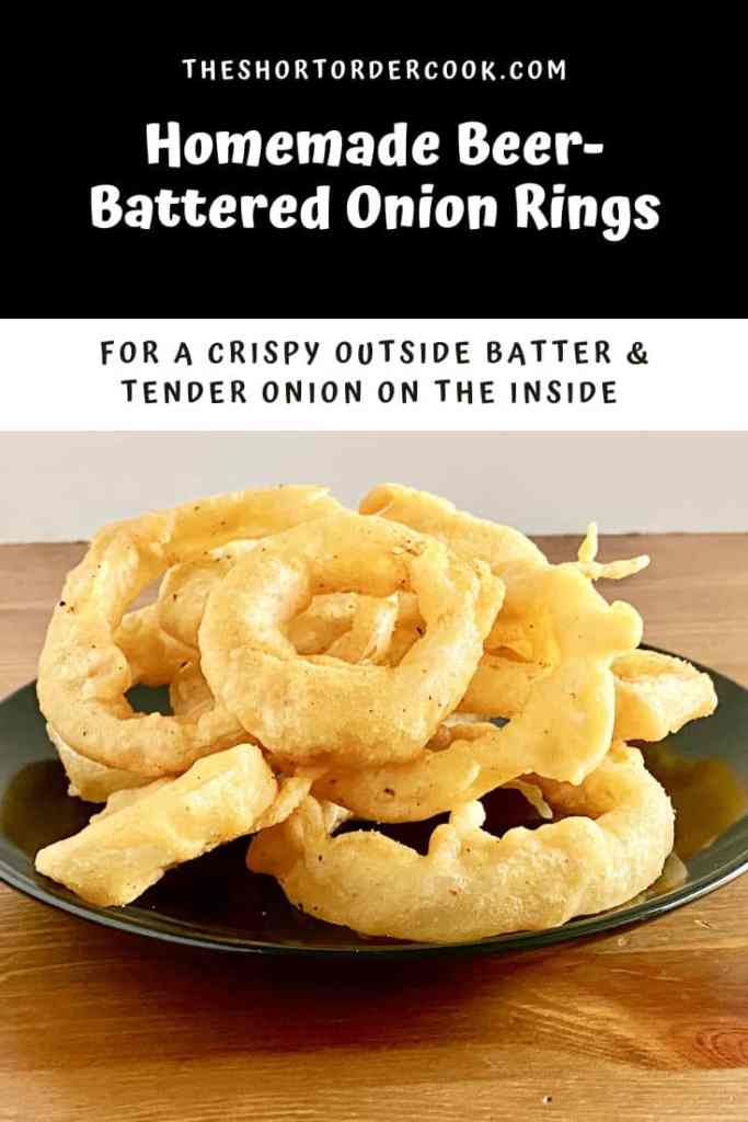 Homemade Beer-Battered Onion Rings PIN