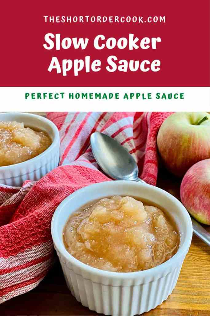 Slow Cooker Apple Sauce PIN