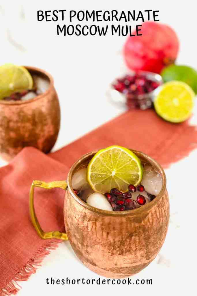 Best Pomegranate Moscow Mule
