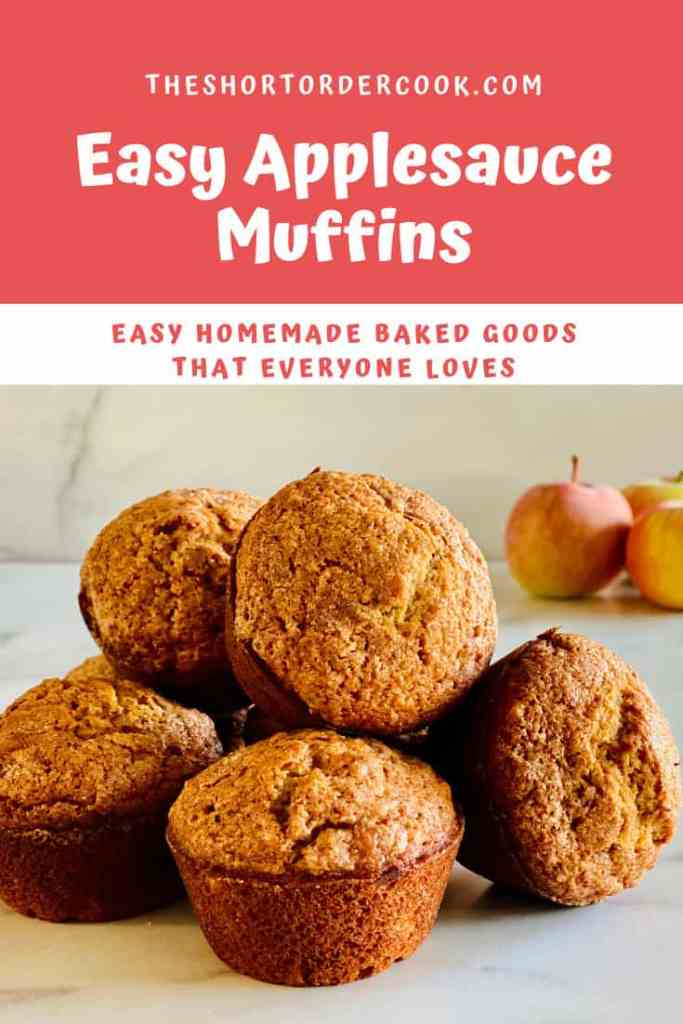 Easy Applesauce Muffins PIN