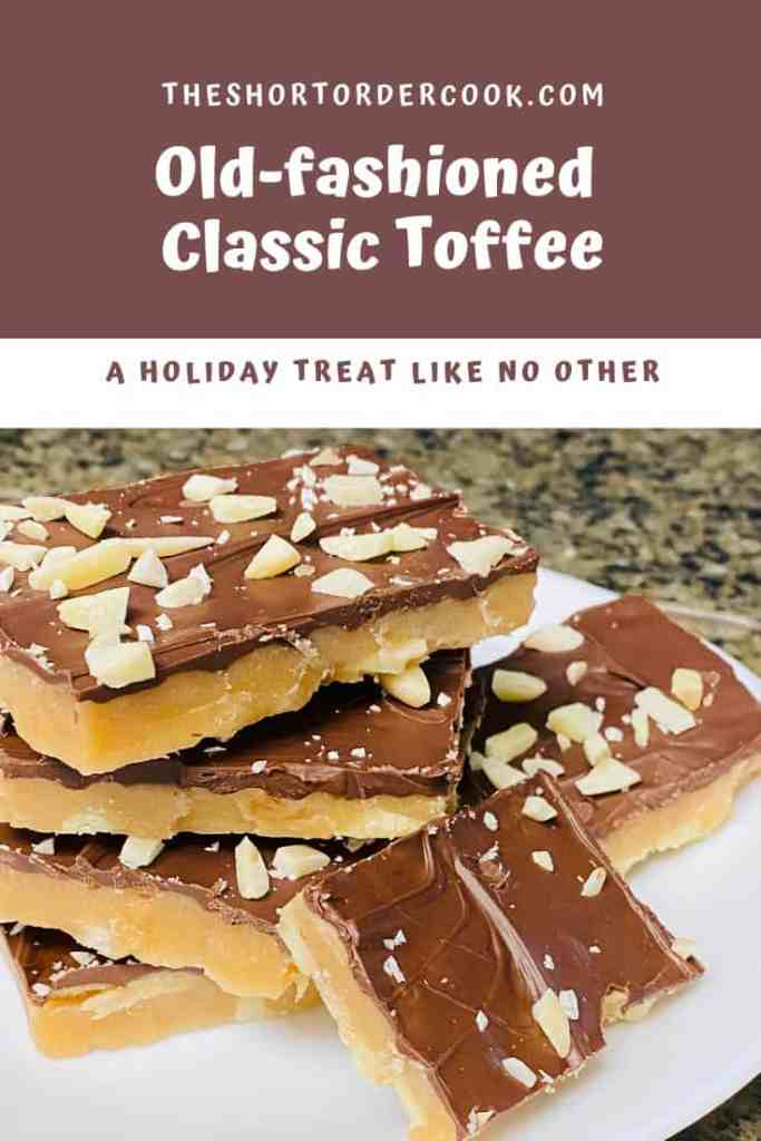 Old-fashioned Classic Toffee PIN