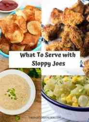 what to serve with sloppy joes PIN