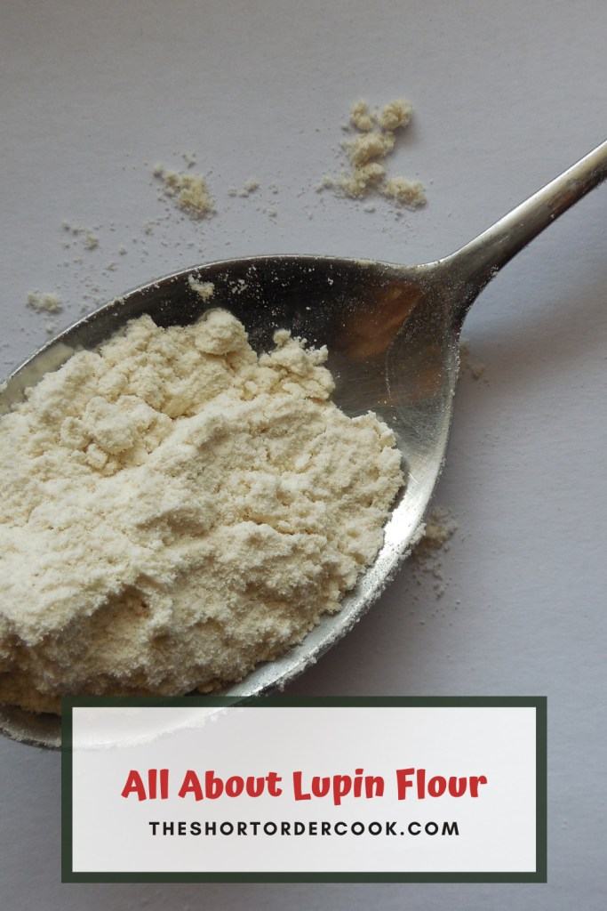 All About Lupin Flour PIN