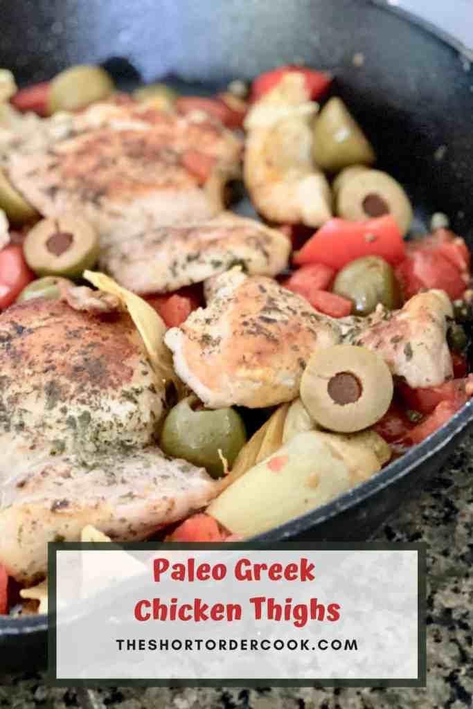 Paleo Greek Chicken Thighs PIN REDO