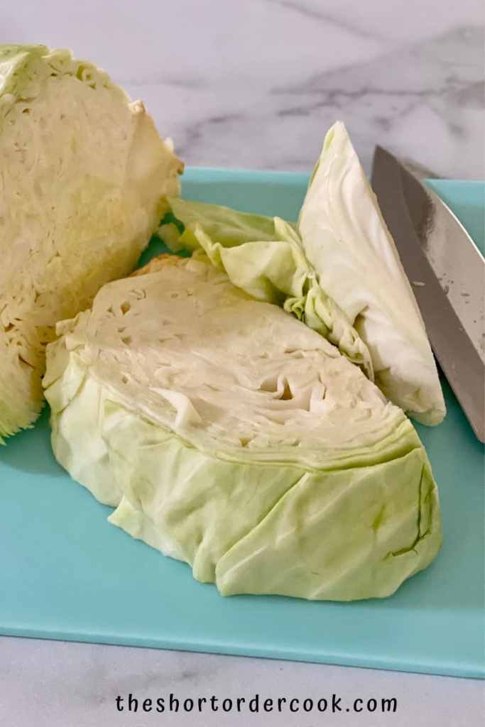 Can You Freeze Cabbage on cutting board in wedges