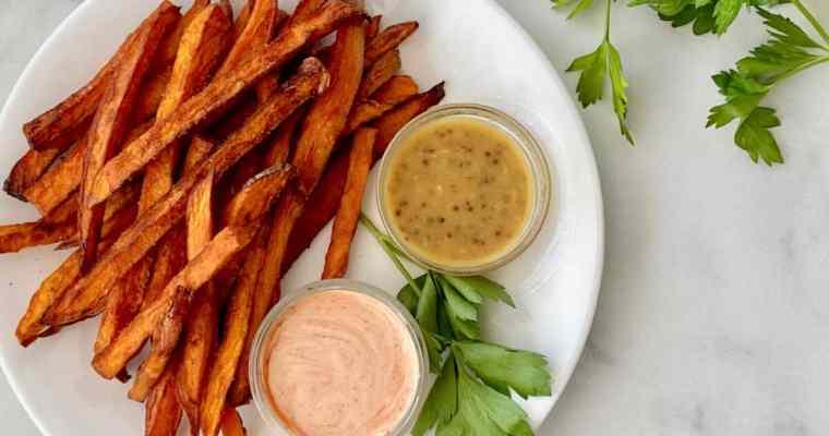 Dips for Sweet Potato Fries