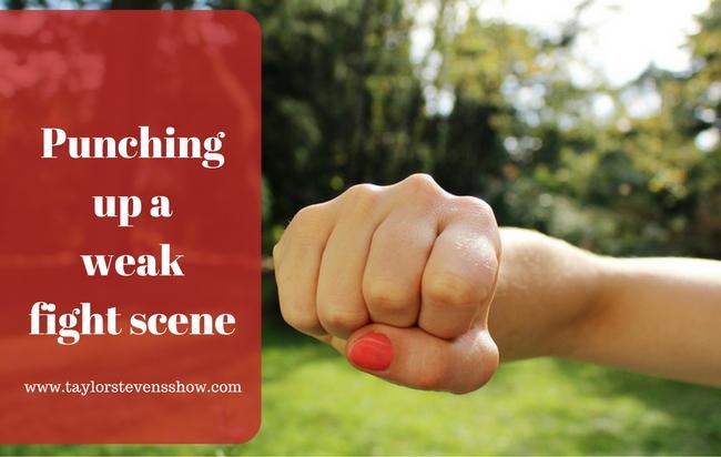 Punching up a weak scene