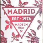 Madrid Skateboard Deck – Rosa – 7.75″