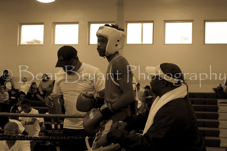 Amateur boxing at the Salvation Army Boys and Girls Club of Shreveport,