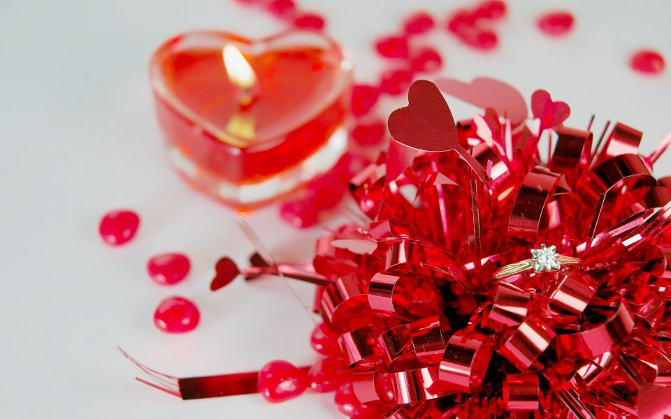 Valentines - Hearts and sparkle