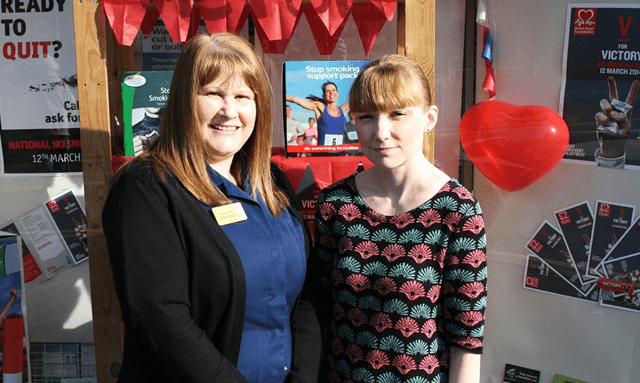 Val (L) and Dianne (R) at Geloo Pharmacy ​