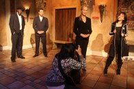 Pretending to be wax figures - The Star and Photographer