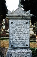 Eugene Lee-Hamilton and Anne Holdsworth Tombstone