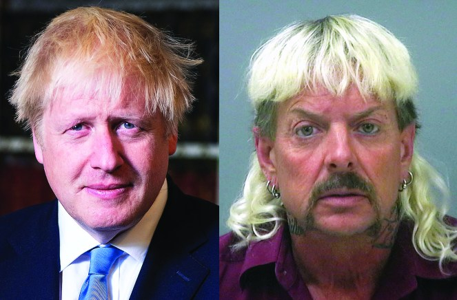 eight reasons why boris johnson and joe exotic from tiger king are practically the same person the sickly mama blog