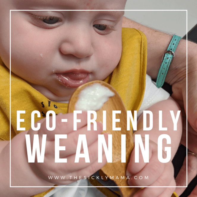 eco-friendly weaning reducing plastic waste during weaning the sickly mama blog