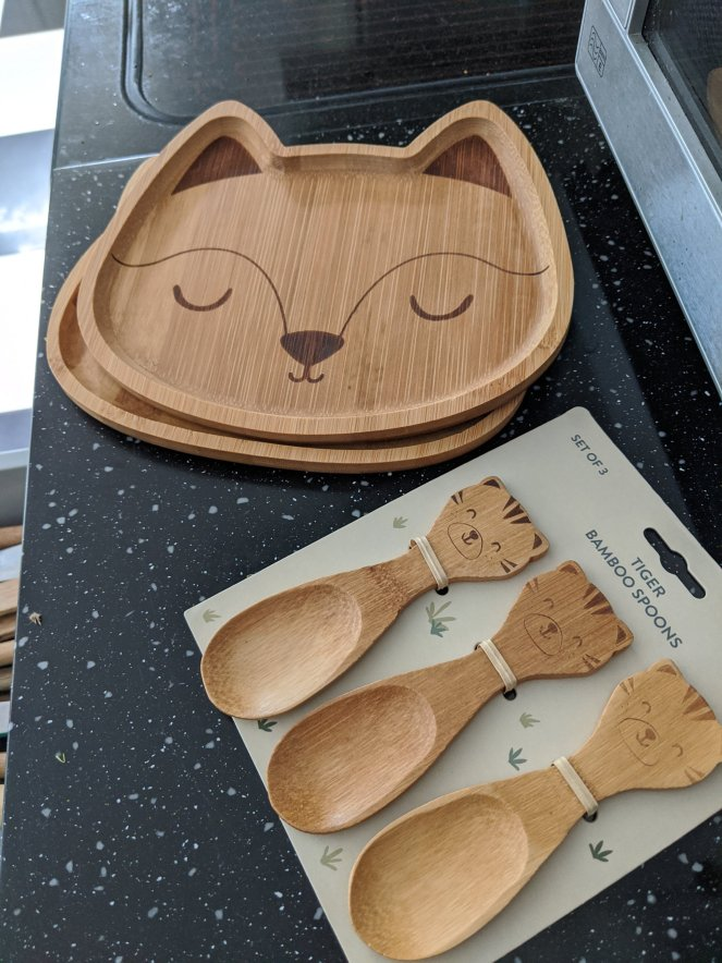 bamboo tableware for making weaning more eco friendly the sickly mama blog sass and belle