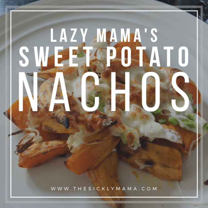 lazy mamas sweet potato nachos recipe gluten free low fodmap