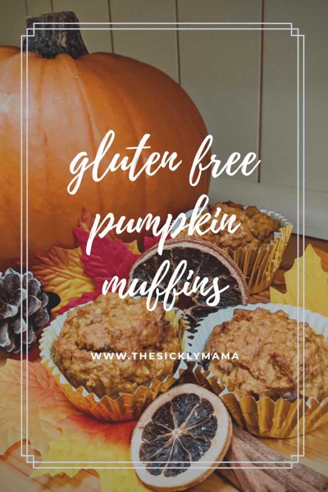 gluten free pumpkin muffins recipe the sickly mama blog autumn