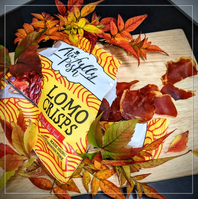 review of awfully posh lomo crisps by the sickly mama blog made with spanish pork loin