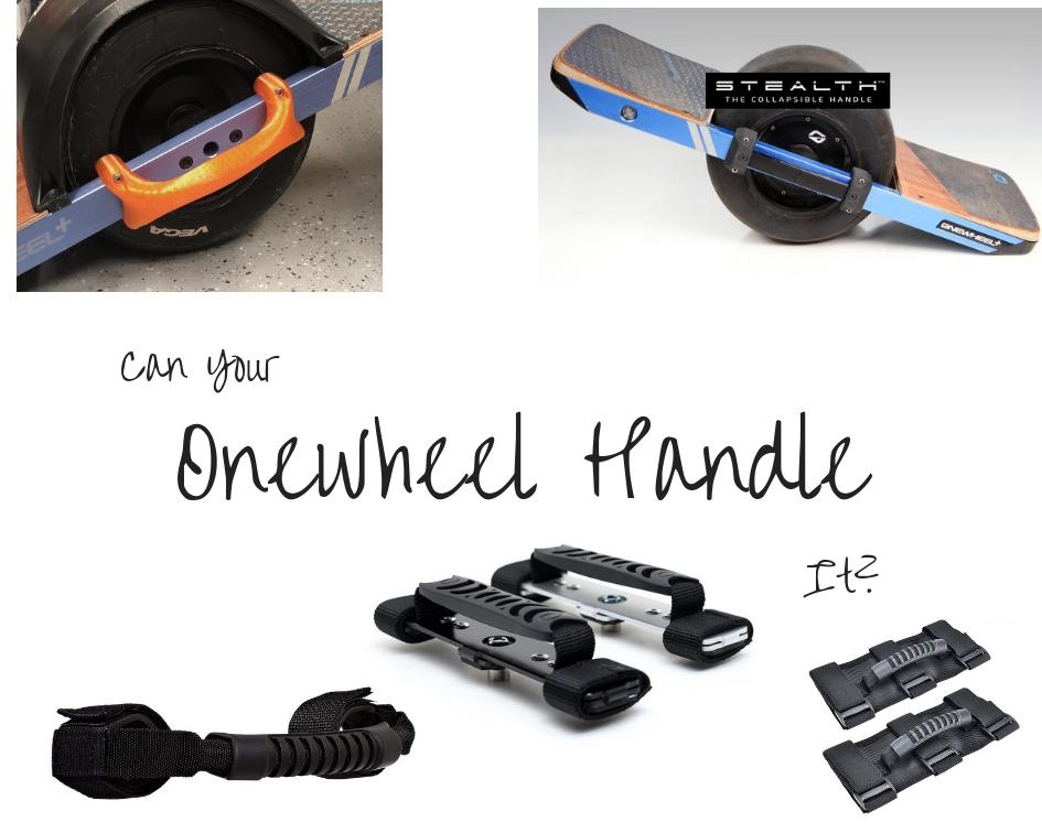 Onewheel Handle Options - The Sideways Movement