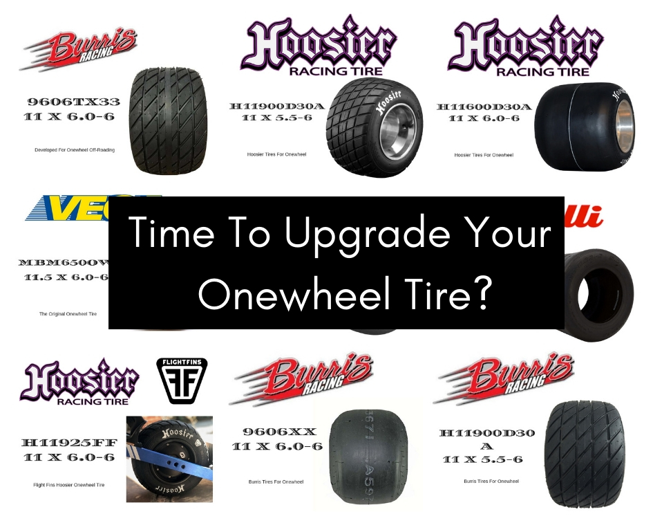 Onewheel Tire Upgrade - The Sideways Movement