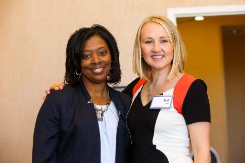 Keynote Speaker, Heidi Elnora and Tara Melvin