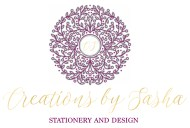 Creations by Sasha Main Logo Redesign AI