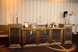 Mercury bar by Edge Floral Event Design