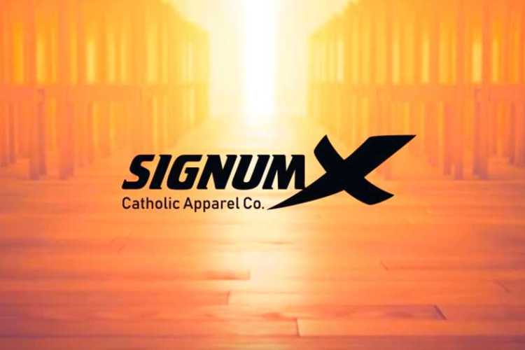 SIGNUMX Catholic Apparel Promo
