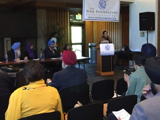 A panel discussion at the Sikh Education in the 21st Century Conference, hosted by the Sikh Foundation, Intl