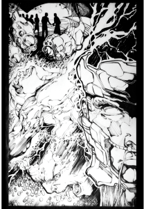 The Silence Issue 1 Splash Page no words.020