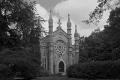 Bigelow Chapel at the Mount Auburn Cemetery. Cambridge, MA