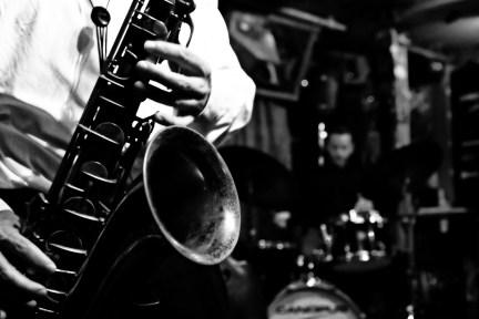 Chris Byars - Tenor Sax and Keith Balla - Drums at Smalls Jazz Club New York, NY