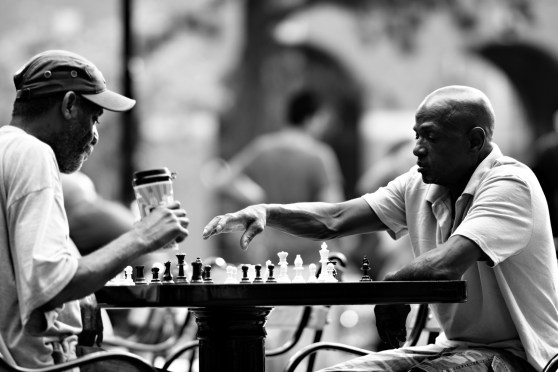 Checkmate, Washington Square Park, NY