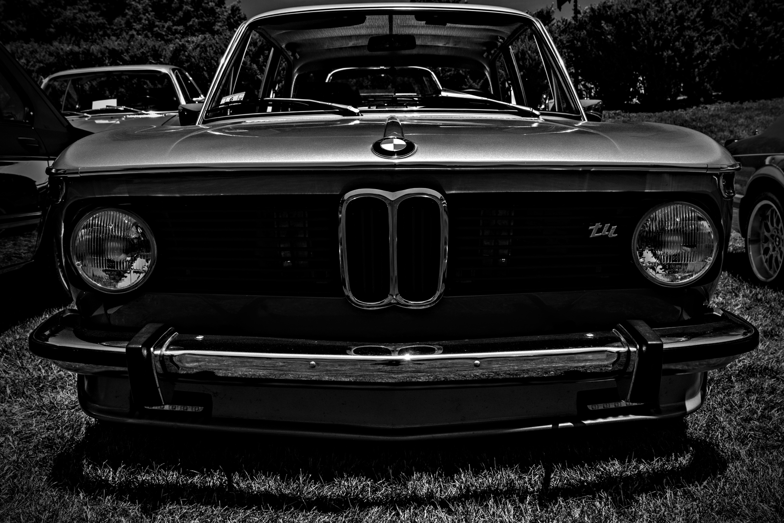1972 BMW 2002 tii at Larz Anderson Auto Museum. Brookline, MA