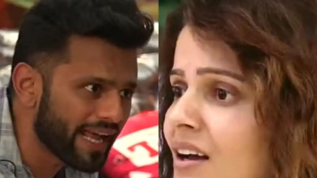 Rubina Dilaik loses her temper as Rahul Vaidya makes personal remarks on Abhinav and her relationship