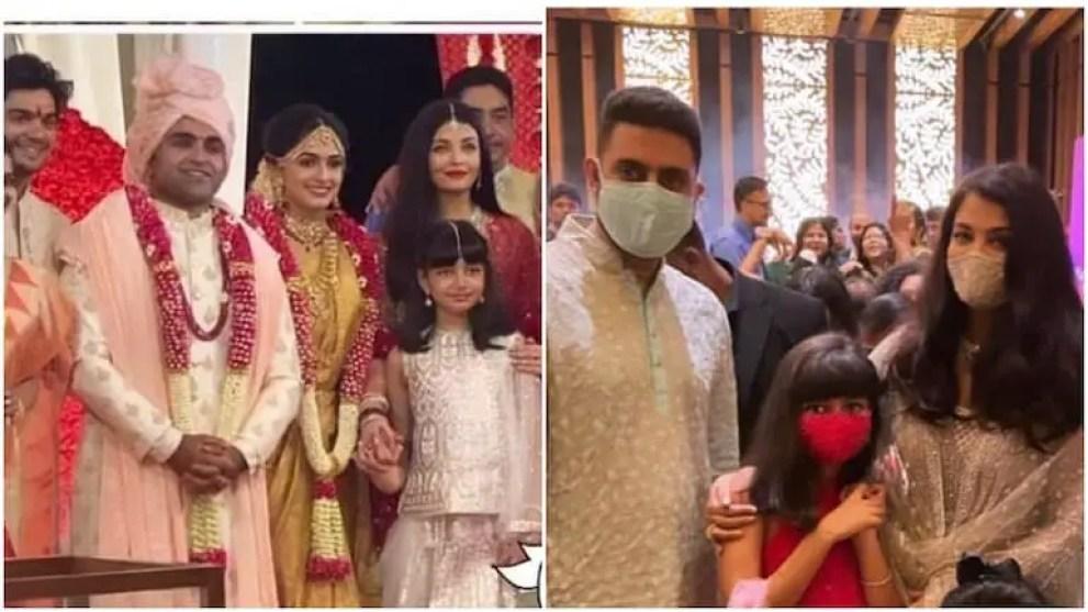 Aishwarya, Abhishek and daughter Aaradhya