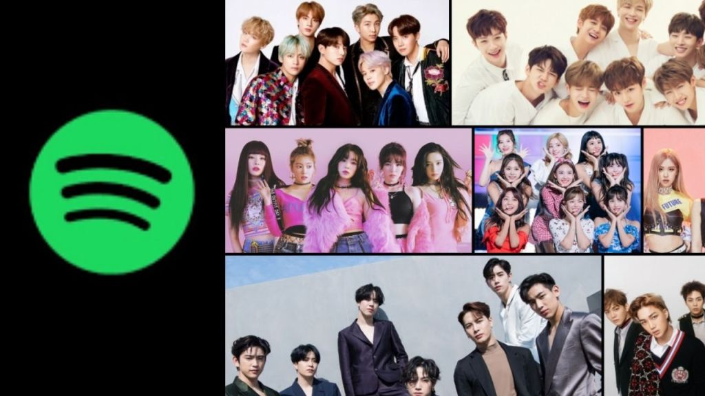 Spotify Launch in Korea : Streams and Followers of KPOP Increase Drastically