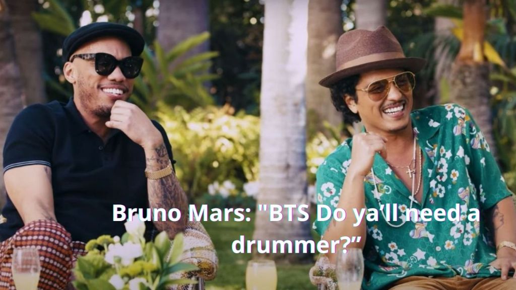 """""""Do ya'll need a drummer?"""" Anderson Paak and Bruno Mars Reach Out To BTS After No Response From the Recording Academy"""