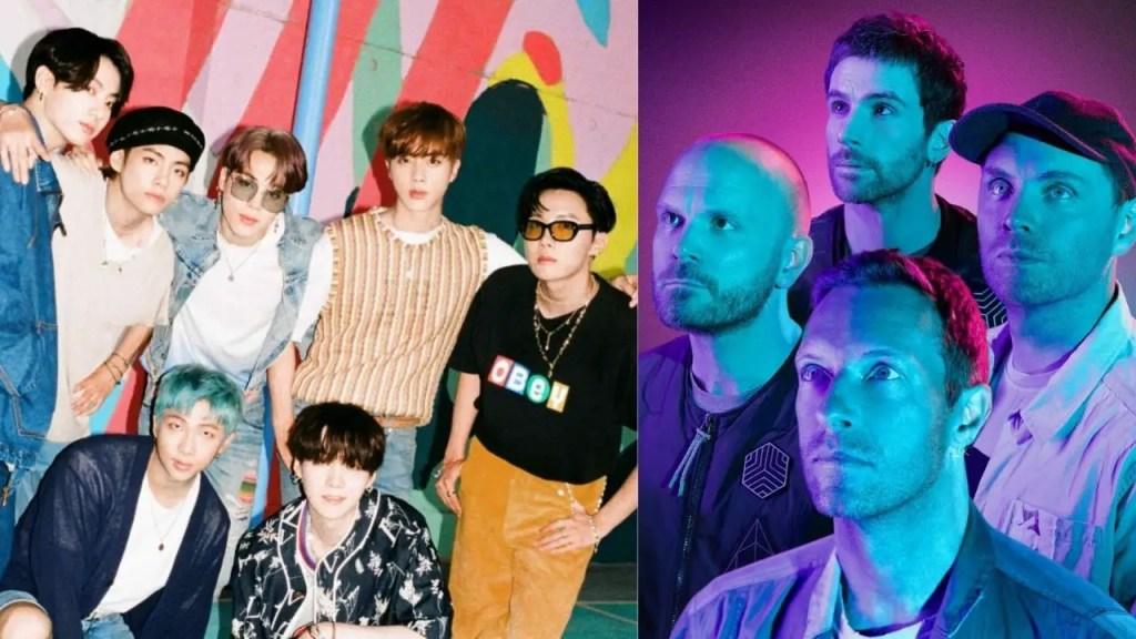 Coldplay, BTS, Chris Martin