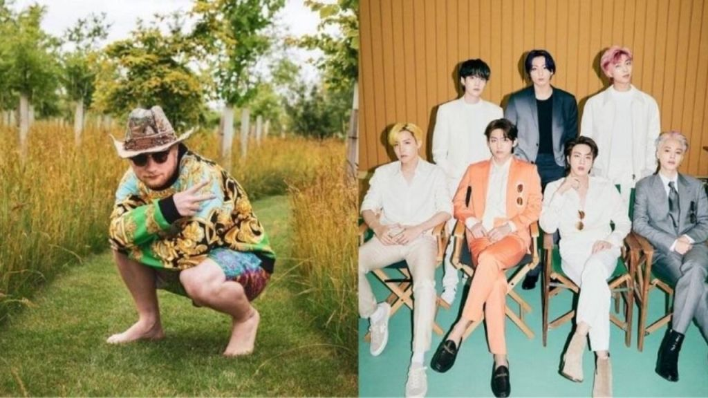 bts to collaborate with ed sheeran