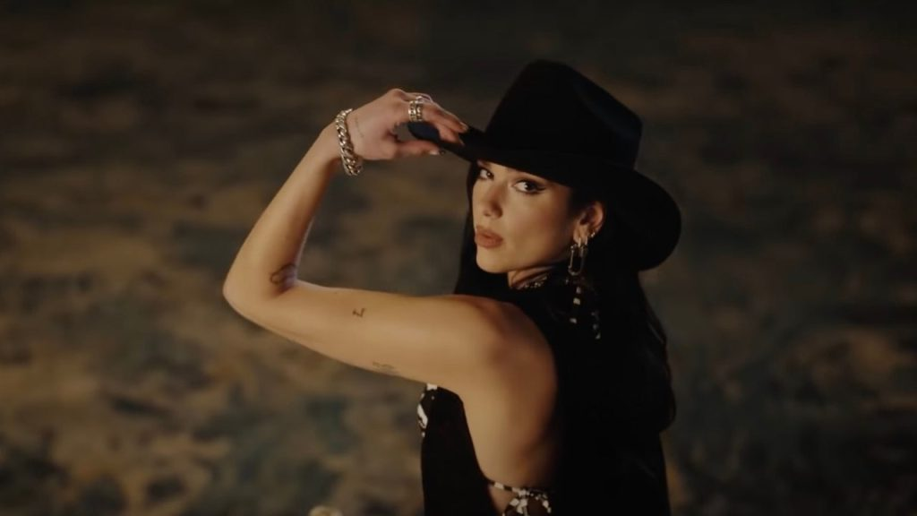 Nobody can pull cowgirl outfit better than Dua Lipa