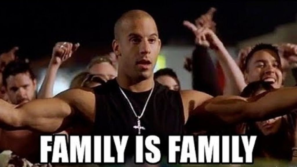Fast and Furious 9, Family