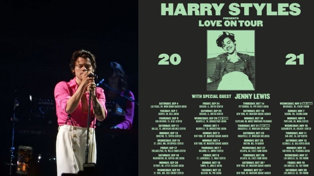 'LOVE ON TOUR' rescheduled once again Harry Styles