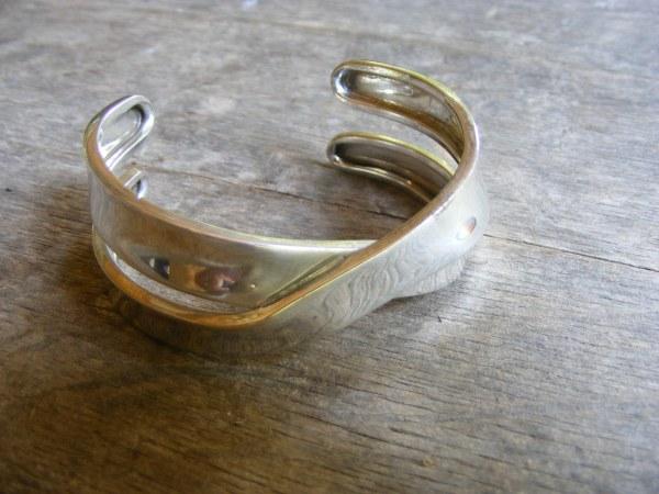 Crisscross Cuff Bracelet – Vintage Mexican