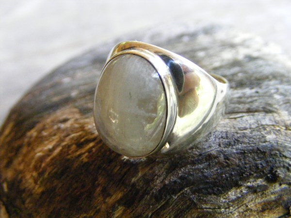 Moonstone Ring – Men's