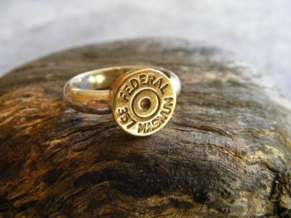 Bullet Ring 357 Magnum